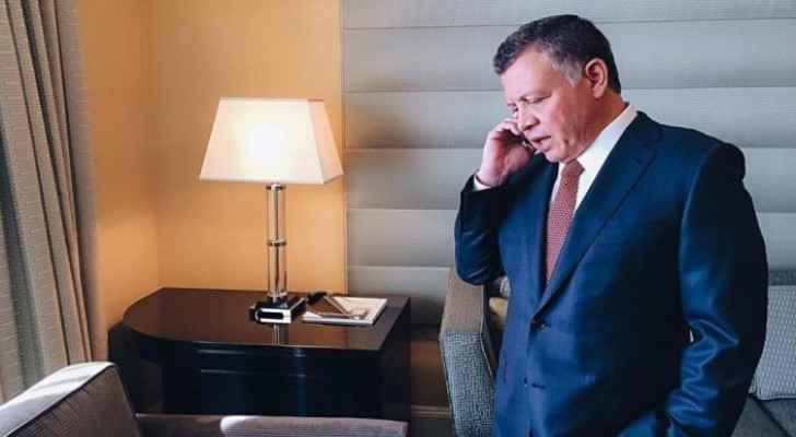 King Abdullah offers condolences to Prince Charles over death of Prince Philip