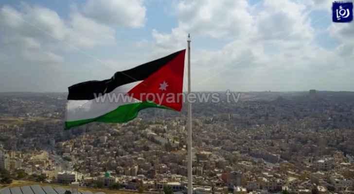 Jordan celebrates National Flag Day