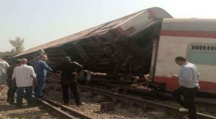 VIDEO: 97 individuals injured as train derails in Egypt