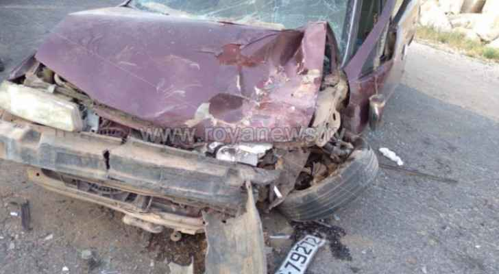 Car collision in Mafraq results in four injuries