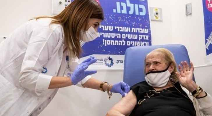 More than 55 percent of population fully vaccinated in Israeli Occupation