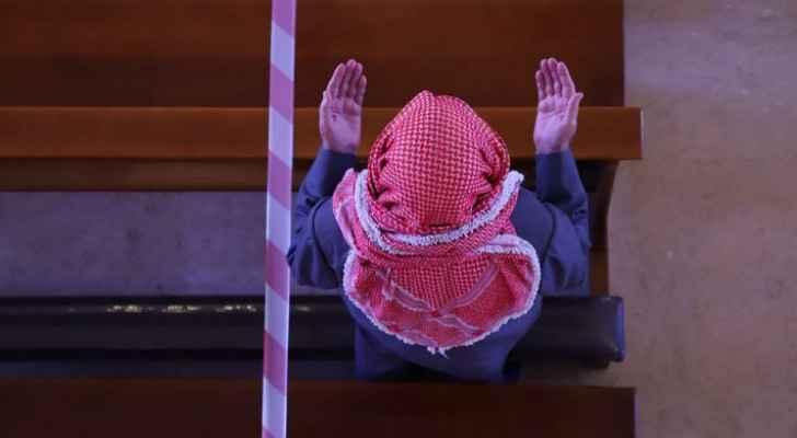 Jordanian Christians celebrate Palm Sunday