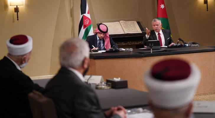 His Majesty affirms support for Jerusalemites in meeting with religious leaders, representatives