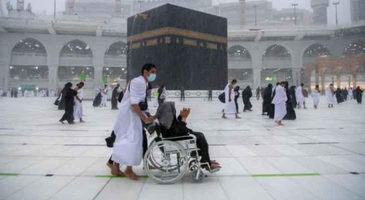 Mecca witnesses heavy rainfall Tuesday