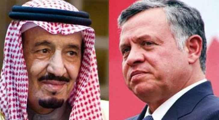 King Salman offers condolences to King Abdullah II over passing of Prince Muhammad bin Talal