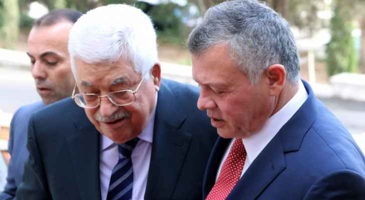Abbas extends condolences to King Abdullah II over passing of HRH Prince Muhammad bin Talal