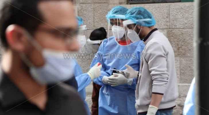Jordan records 35 deaths and 1,556 new coronavirus cases