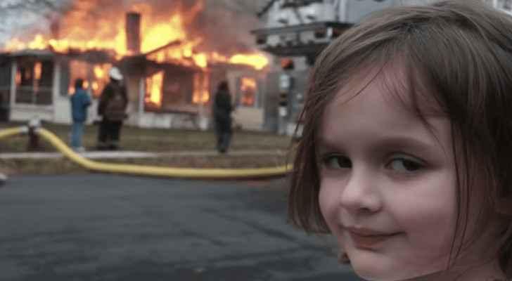 Woman behind 'Disaster Girl' meme sells original photo as NFT for $500,000