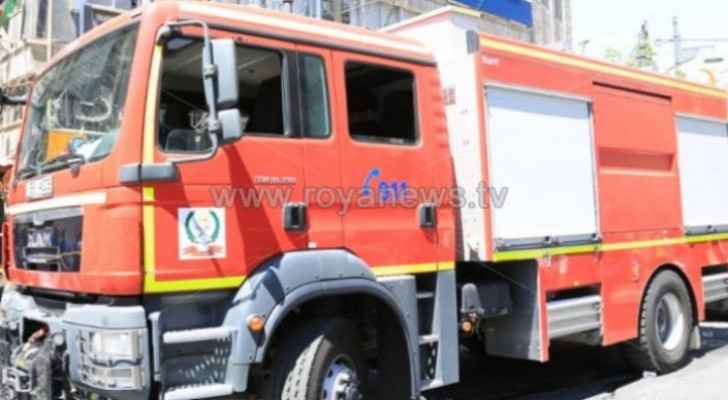 Firefighters extinguish fire in Anjara