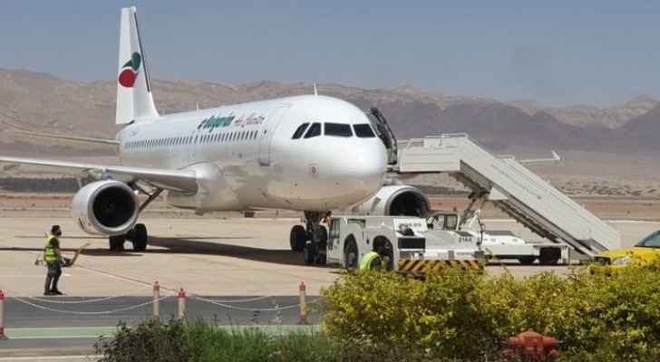 12 Russian tourist planes to land in Aqaba beginning Thursday