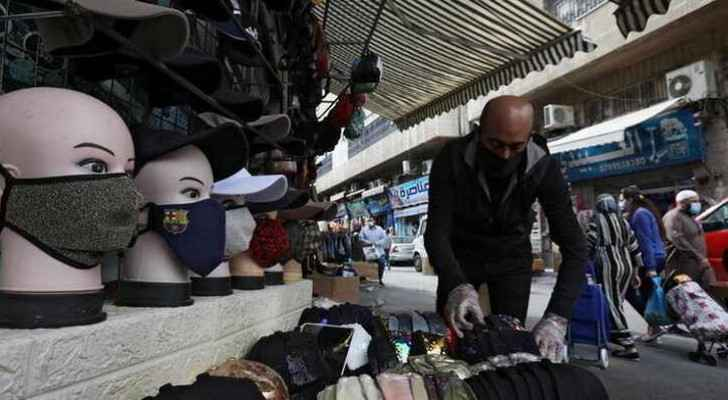 Prices of clothes, shoes in Jordan decrease by 10-15 percent in comparison to 2020