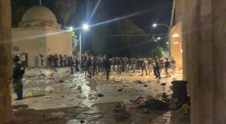 Israeli Occupation's blatant attacks against Al-Aqsa barbaric, rejected: Jordan