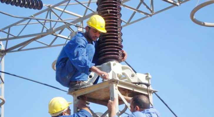 Electricity Company to cut off power in certain areas in Irbid, Jerash