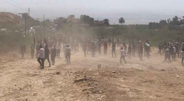 No live ammunition used to deter protesters in Jordan Valley: security source