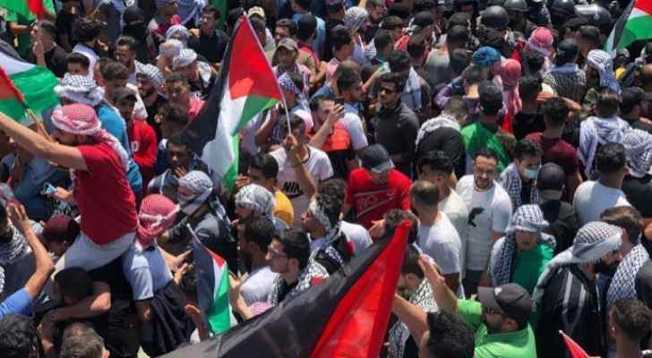 Interior Ministry issues statement on popular protests held in support of Palestinians
