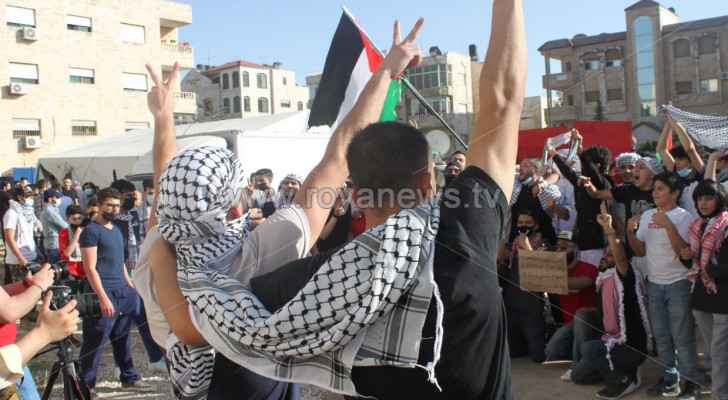 'Jerusalem is ours': Jordanians continue protesting throughout Amman
