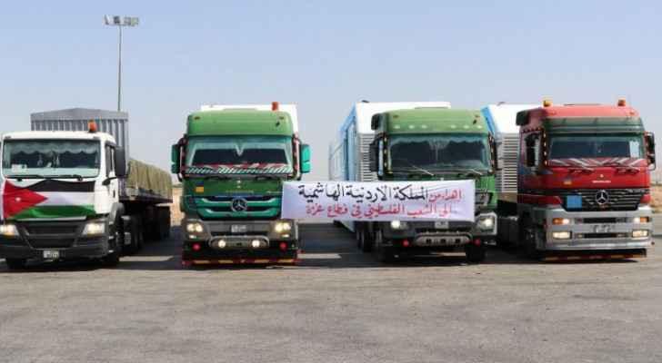 IMAGES: King Abdullah II orders sending medical aid to Gaza