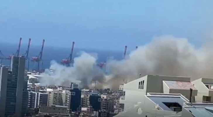 VIDEO: Fire breaks out in Beirut port: Security sources