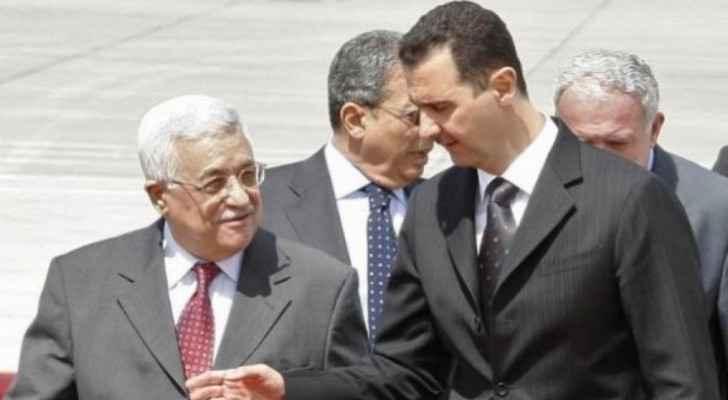 Abbas congratulates Assad on new presidential term