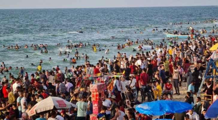 Gaza on cusp of health disaster as sewage pumping operation begins towards seashore