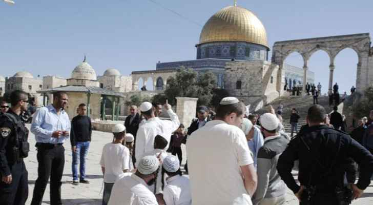 Settlers storm Al Aqsa, IOF renders family homeless south of Hebron