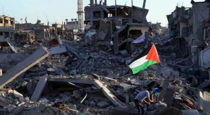Jordanian, Egyptian FMs emphasize importance of international efforts to rebuild Gaza