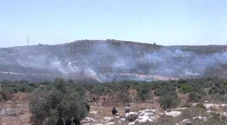 At least 10 Palestinians injured following confrontations with IOF in Beita