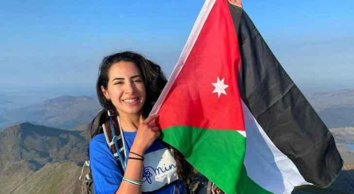 Jordanian woman climbs three mountains to raise mental health awareness, raises Jordanian flag