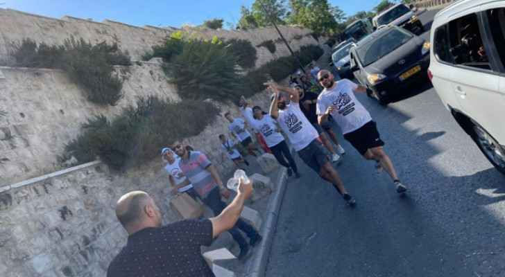 IOF attack marathon in solidarity with families facing evictions in Sheikh Jarrah, Silwan