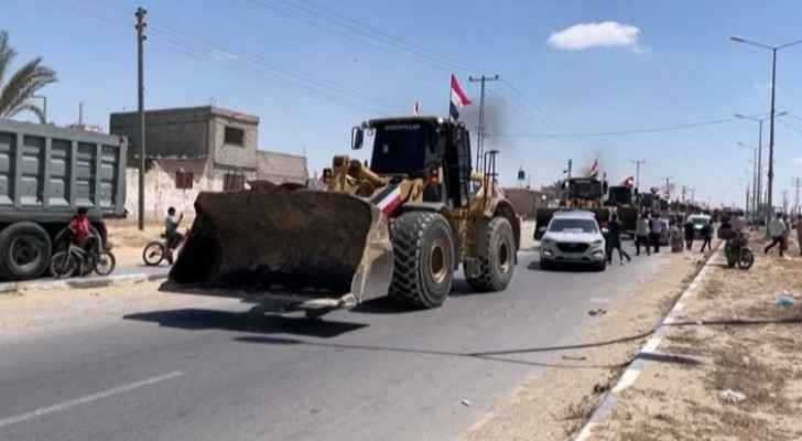 Egypt sends technical teams, engineering equipment to Gaza