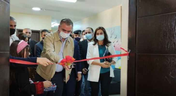Youth Minister inaugurates project in Ajloun