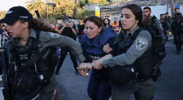 IOF release Al-Jazeera journalist after long arrest following her coverage in Sheikh Jarrah