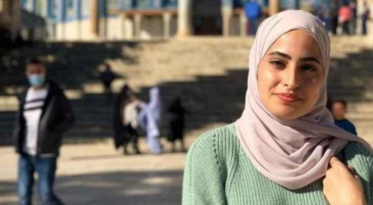 Israeli Occupation arrests Palestinian activist Muna El-Kurd from Sheikh Jarrah