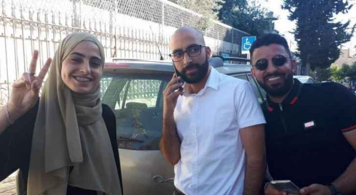 Israeli Occupation releases Muna Al-Kurd and her father