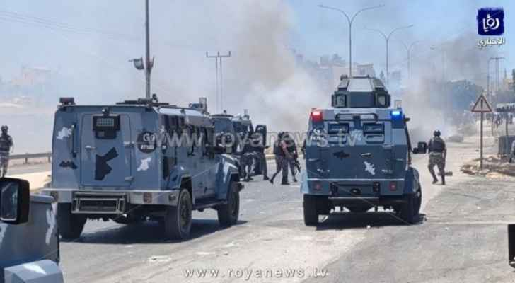 PSD deals with riots, attacks on public property in Naour