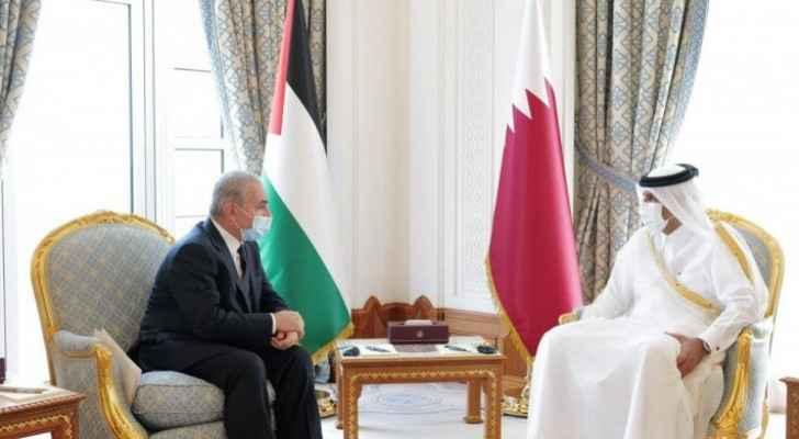 Shtayyeh, Qatari counterpart discuss latest developments in Palestine