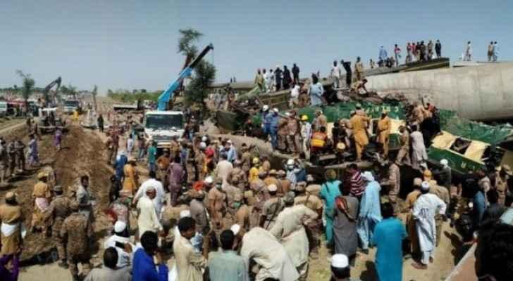 Jordan offers condolences to Pakistan over train collision victims