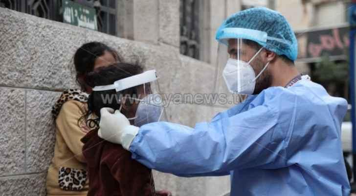 Jordan records eight deaths and 599 new coronavirus cases