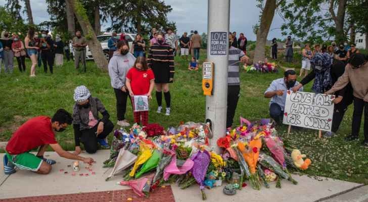 Premeditated car attack kills four members of Muslim Canadian family
