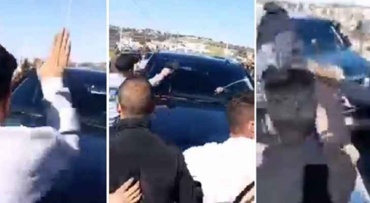 Man arrested for attacking car of RHC Chief in Salt