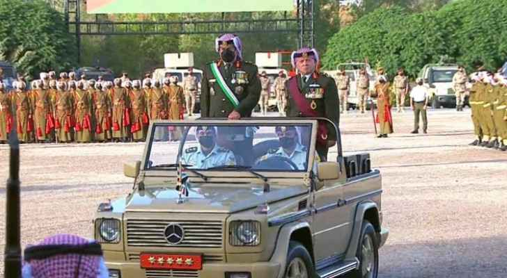 King participates in Armed Forces' celebration of 22nd anniversary of Accession to the Throne