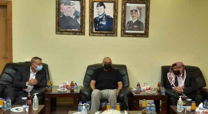 PM visits Al-Omari border crossing, King Hussein Bin Talal Development Zone