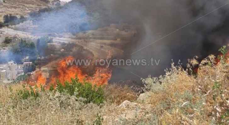 CDD extinguishes fire in Naour