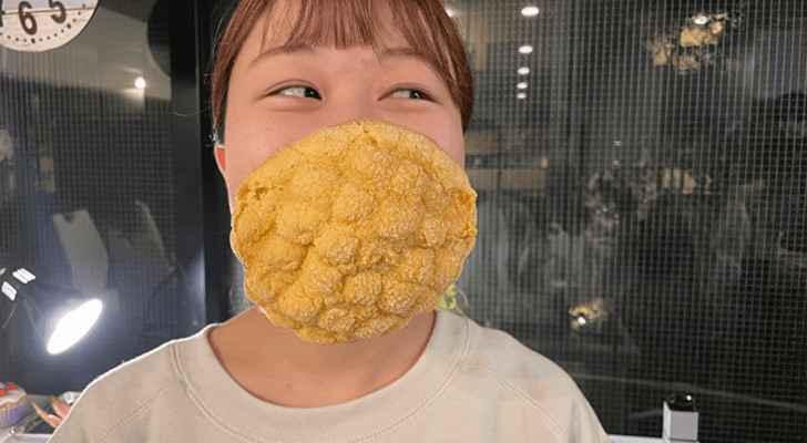Japan creates world's first edible face mask