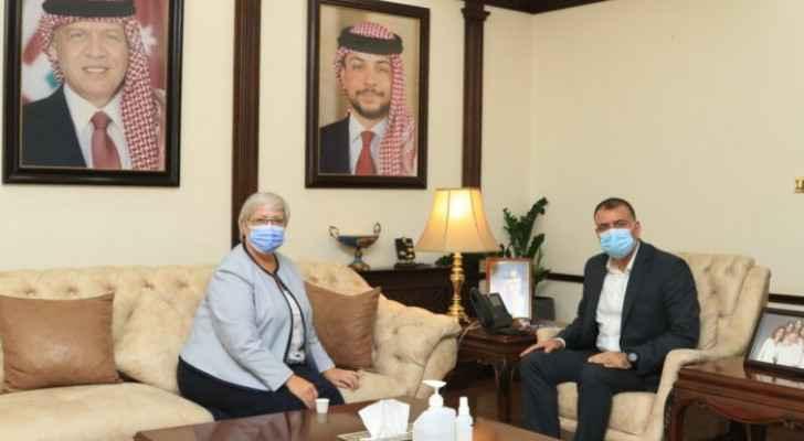 Interior minister, Canadian Ambassador discuss security, humanitarian cooperation