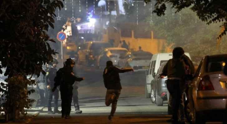 Israeli Occupation settlers attack residents of Sheikh Jarrah neighborhood