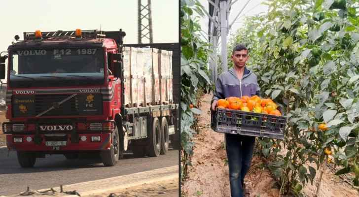 Exports resume from Gaza as Israeli Occupation eases blockade