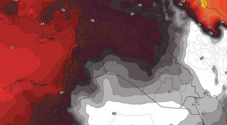 High temperatures return Wednesday as hot air mass prevails in Kingdom