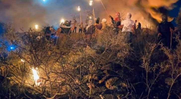 Israeli Occupation injures 51 in Jabal Sabih, Qusra
