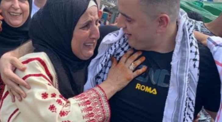Israeli Occupation releases Palestinian prisoner Muhammad Ali